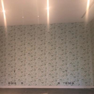 Installing Cole&Son wallpaper in Chelsea, London